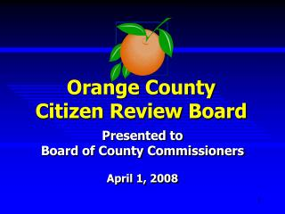 Orange County Citizen Review Board