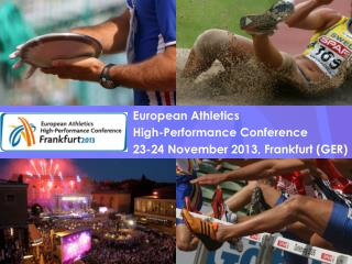 European  Athletics             High-Performance Conference