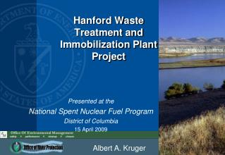 Hanford Waste Treatment and Immobilization Plant Project