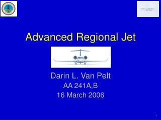 Advanced Regional Jet