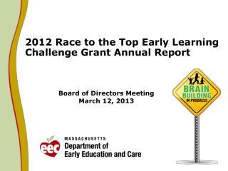 Board of Directors Meeting March 12, 2013