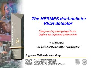 The HERMES dual-radiator 		RICH detector
