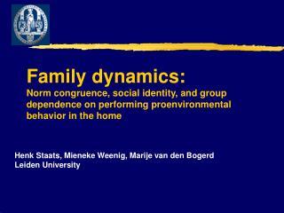 Henk Staats, Mieneke Weenig, Marije van den Bogerd Leiden University