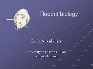 Timo Nevalainen University of Eastern Finland Kuopio, Finland