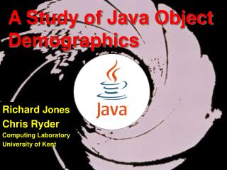 A Study of Java Object Demographics