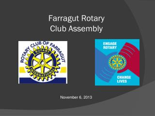 Farragut Rotary Club Assembly