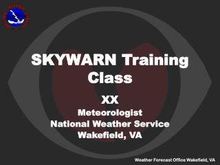 SKYWARN Training Class