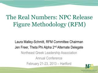 The Real Numbers: NPC Release Figure Methodology (RFM)