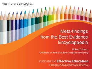Meta-findings  from the Best Evidence Encyclopaedia