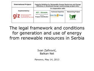 Ivan  Zafirović,  Balkan Net Pancevo,  May  14 ,  2013