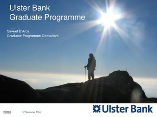 Ulster Bank  Graduate Programme