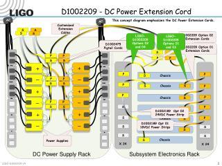 D1002209 - DC Power Extension Cord