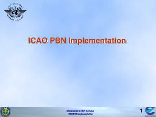 ICAO PBN Implementation