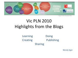 Vic PLN 2010 Highlights from the Blogs