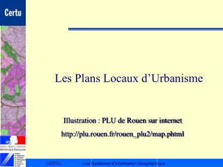 Les Plans Locaux d�Urbanisme