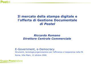 E-Government, e-Democracy