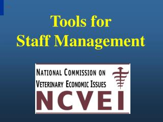 Tools for Staff Management