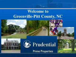 Welcome to  Greenville-Pitt County, NC