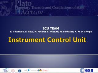 Instrument  Control  Unit