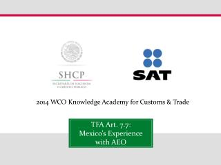 2014 WCO Knowledge Academy for Customs & Trade