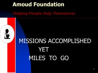 Amoud Foundation Helping People Help Themselves