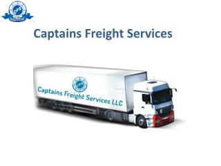 Freight Services Company in Dubai