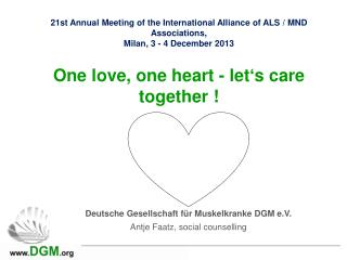 21st Annual Meeting of the International Alliance of ALS / MND Associations,
