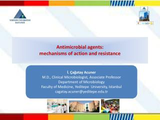 Antimicrobial  agents : mechanisms  of action and  resistance