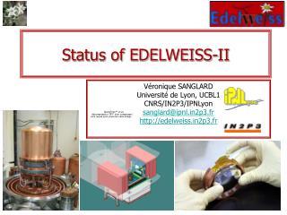 Status of EDELWEISS-II