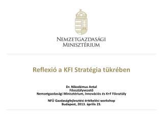 Reflexió a KFI Stratégia tükrében