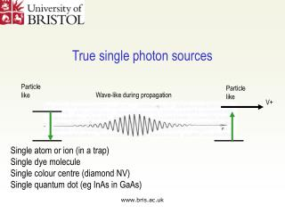 True single photon sources