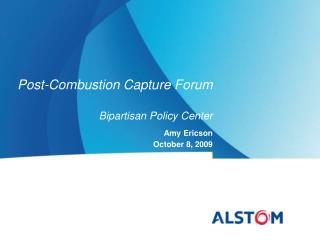 Post-Combustion Capture Forum