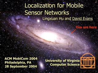 Localization for Mobile Sensor Networks