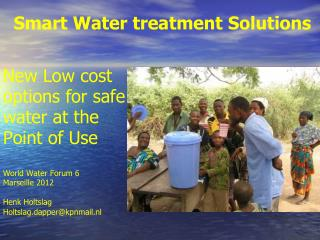 Smart Water treatment Solutions