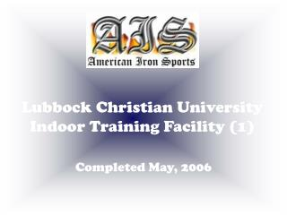 Lubbock Christian University Indoor Training Facility (1)