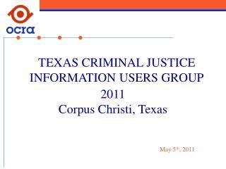 2011 Corpus Christi, Texas