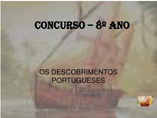 CONCURSO – 8º ANO