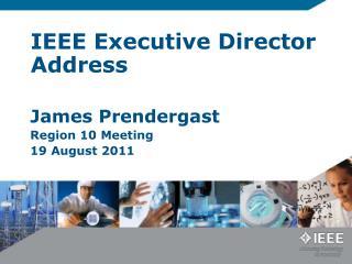 IEEE Executive Director Address