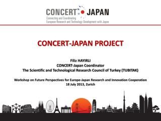 CONCERT-JAPAN PROJECT  Filiz HAYIRLI CONCERT-Japan Coordinator