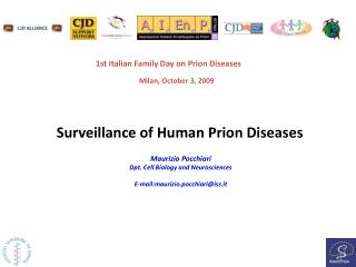 Surveillance of Human Prion Diseases