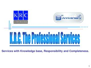 K.R.C. The Professional Services