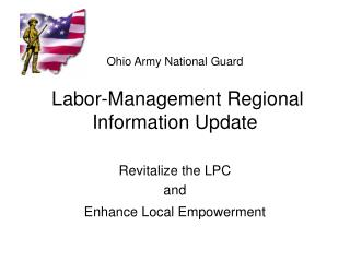 Ohio Army National Guard  Labor-Management Regional Information Update