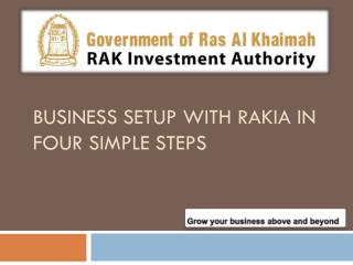 business setup with Rakia and Rakia Strategic Business units