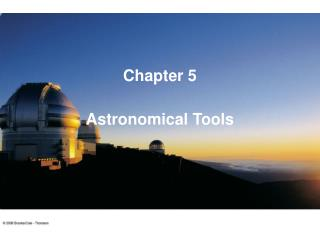 Astronomical Tools