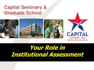 Your Role in  Institutional Assessment