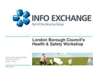 London Borough Council's Health & Safety Workshop
