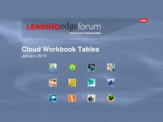 Cloud Workbook Tables