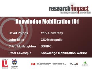 Knowledge Mobilization 101