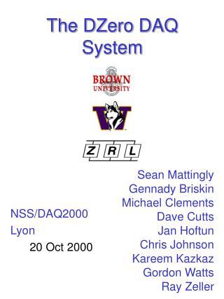 The DZero DAQ System