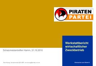 Rene Brosig, Schatzmeister BZV MFR, rene.brosig@piraten-mfr.de